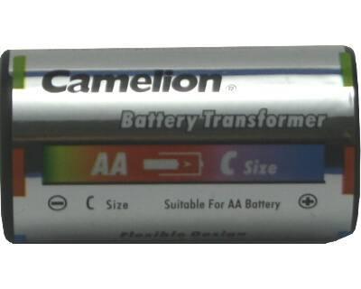 Oplaadbare batterijen d mono adapter AA